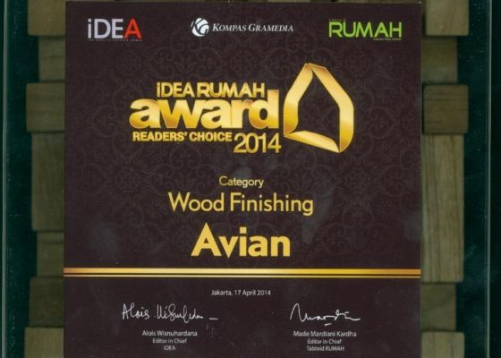 idea rumah awards avian wood 2014