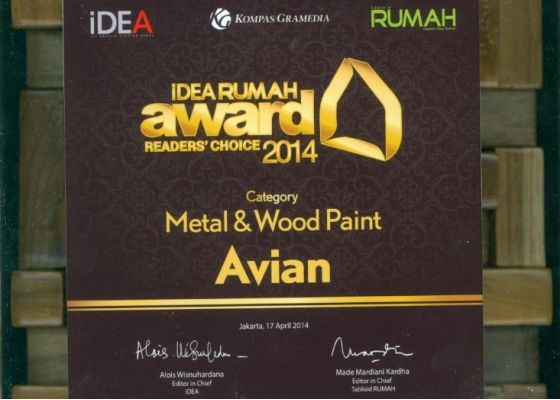 idea rumah awards avian 2014