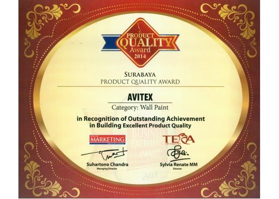 product quality avitex 2014 surabaya
