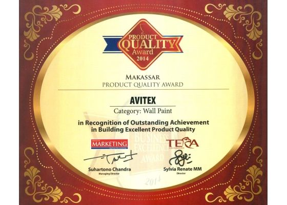 product quality avitex 2014