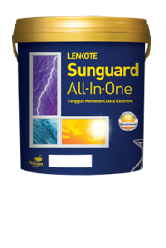 Cat Tembok Eksterior Sunguard All-In-One