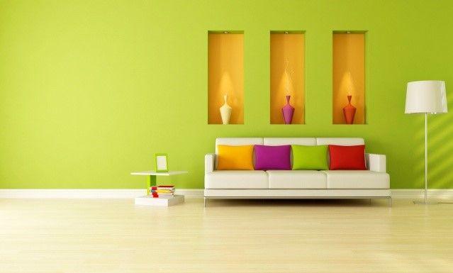 Kombinasi Warna Cat Rumah Hijau Dan Kuning  avian brands 7 makna warna dalam ruangan avitex